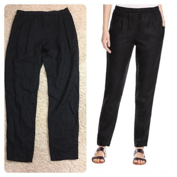4fc4594c5b9 NWT! Eileen Fisher Organic Linen Slouchy Pants